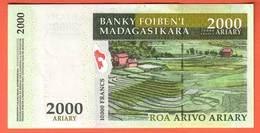 MADAGASCAR - 2.000 Ariary  De 2003 - Pick 83 - Madagascar