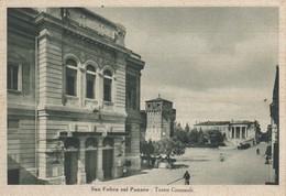 Emilia Romagna - Modena - S. Felice Sul Panaro - Teatro Comunale  - F. Grande - Anni 40 - Molto Bella - Italia