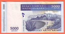 MADAGASCAR - 5.000 Ariary  De 2003 - Pick 91 - Madagascar