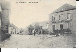 FOUCHES - Place De L' Eglise - N° 297 - Commerce Négocant Even - Circulé - 2 Scans. - Arlon