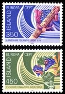 1982Iceland578-579Europa Cept5,00 € - 1982