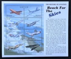 Central Africa 2000 Airplanes , MNH [13;5] - Vliegtuigen