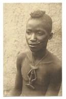 """AFRIQUE - BURKINA FASO - DEDOUGOU - """"Beau Type De Bobo Clés Avec Son Sifflet"""" - CPA - Burkina Faso"""