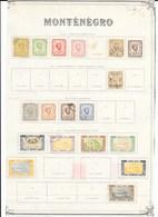 Monténégro Classiques Lot De 73 Tp 1874-1913 O & * - Montenegro
