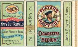 120320A - CIGARETTE EMBALLAGE - PLAYERS NAVY CUT CIGARETTES MEDIUM - Marin Bouée Tobacco - Sigarette - Accessori