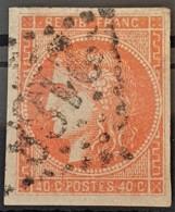 FRANCE 1870 - LE MANS Cancel - YT 48 - 40c - 1870 Emisión De Bordeaux