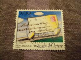 """1990-99  Oblitéré  N° 3062   """" La Lettre,pli Roulant  """"  Net 0.30-""""  Vaucluse""""   Photo 2 - Used Stamps"""