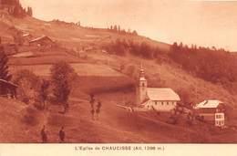 L'Eglise De Chaucisse (73) - Autres Communes