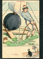 CPA - Illustration Gervèse - NOS MARINS - Gabier - Warships