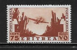 ERYTHREE ( AFERY - 5 )  1936  N° YVERT ET TELLIER  POSTE AERIENNE N° 21 N* - Eritrea
