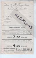 76 Cabinet De Me Renard Huissier Place Hôtel De Ville Neufchâtel En Bray ( Seine Inf. ) - Etude De Me Gray - 1902 - Manuscrits