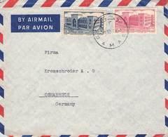 SYRIEN - AIRMAIL 1952 Nach OSNABRÜCK /ak561 - Syria