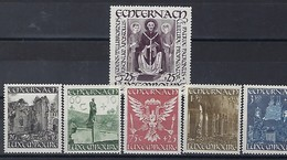 Luxembourg - 1947 - Série St.Willibrord , Echternach **  K.W. 50,00 € - Blocs & Feuillets