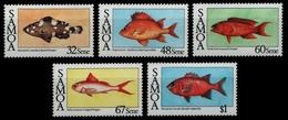 Samoa 1986 - Mi-Nr. 600-604 ** - MNH - Fische / Fish - Samoa (Staat)