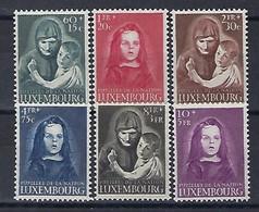 Luxembourg - 1950 - Sèrie Orphelins De Guèrre ** ( 2e Guèrre Mondiale ) K.W. 120,00 - Blocs & Feuillets