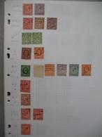 Perforé Perfin , Lot De Timbre Perforé Grande Bretagne : See Details, à Voir        W&C   /++++/     WCLd - Perforadas