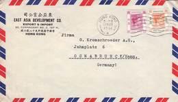HONGKONG - AIR MAIL 1951 - OSNABRÜCK/GERMANY /ak567 - Hong Kong (...-1997)