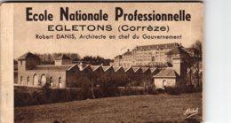 S4314 Cpa 19 Egletons - Carnet Complet De 12 Cartes Ecole Nationale Professionnelle - Egletons
