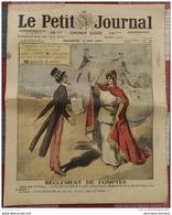 1920 LE PETIT JOURNAL - REGLEMENT DE COMPTES - ETATS UNIS ET FRNCE - JOURNÉE DES FAMILLES NOMBREUSES - Newspapers