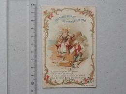 CHROMO LIEBIG: SCENES ROCOCO (S578) 1898 - Pique-Nique Jeune Couple Humour - Recette Potage JEANNETTE Au Verso - Liebig