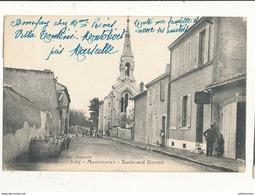 77 MONTOLIVET BOULEVARD DURAND CPA BON ETAT - France