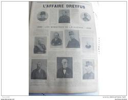 1899 AFFAIRE DREYFUS - CHUTE D'UN AERONAUTE MILITAIRE - LE PETIT MARSEILLAIS - 1850 - 1899