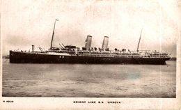ORIENT LINE SS ORSOVA - Paquebote