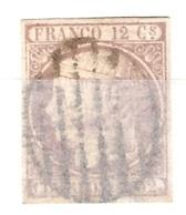 Espagne YT N° 13 Oblitéré. B/TB. A Saisir! - 1850-68 Kingdom: Isabella II