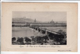 Cpa Lyon  Pont De La Guillotiere Et L Hotel Dieu - Autres