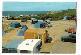 85-----LES SABLES D'OLONNE---en Bordure De Mer---camping Du Puits-d'enfer-( Voitures Simca + 4L + Autres )--voir 2 Scans - Sables D'Olonne