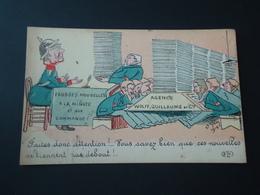 Humor Faites Donc Attention  Vous Savez Bein Que Nouvelles Ne Tiennent Pas Debout     ( 2 Scans ) - Humoristiques