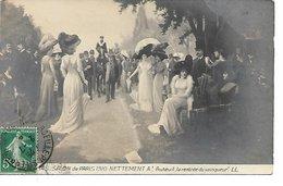 L100F198 - Salon De Paris 1910 - Auteuil La Rentrée Du Vainqueur - LL N°145 - Peintures & Tableaux