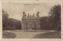 Kruishoutem   -   Het Kasteel.   -   1951   Naar   Schaarbeek - Kruishoutem
