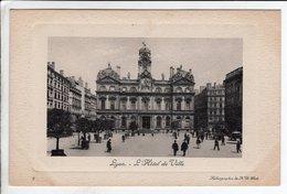 Cpa Lyon L Hotel De Ville - Autres