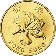 Monnaie, Hong Kong, Elizabeth II, 10 Cents, 1997, SPL, Brass Plated Steel, KM:66 - Hong Kong