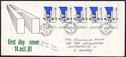 Hong Kong TSIM SHA TSUI Public Housing FDC Vom 14.10.1981 In MeF Gelaufen - 1997-... Chinese Admnistrative Region