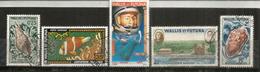 Timbres P.A. (vue De Mata-Utu,Astronaute Shepard,etc)  4 Timbres Oblitérés Bonne Qualité - Used Stamps