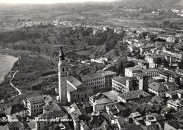 BELLUNO - PANORAMA AEREO - Formato GRANDE - VIAGGIATA 1957 - (rif. Q39) - Belluno