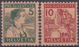 SUIZA 1915 Nº 149/50 NUEVO CON CHARNELA MUY FINA - Nuovi