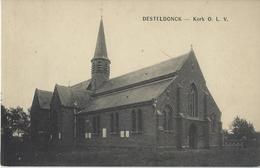 Desteldonck.   -   Kerk O.L.V. - Evergem