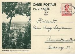 Luxembourg  -  Carte Postale - Postkarte - 1937 - Ettelbruck - Porte Des Ardennes Luxembourgeoises -  2 Scans - Entiers Postaux