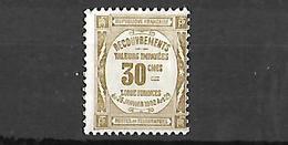 France Timbre  Taxe 1908 Cat Yt N° 46    N* MLH - 1859-1955 Nuevos