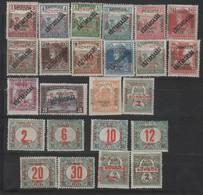 Hongrie - Szeged (1919 ) Timbres  Surch. Suivie De N°25 Taxe 1/8 - Szeged