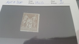 LOT 494848 TIMBRE DE FRANCE NEUF* N°105 - 1898-1900 Sage (Tipo III)