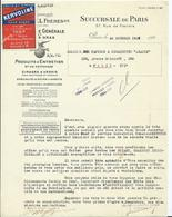 VIGNETTE SALON DE L ' AUTOMOBILE 1923 - HUILE KERVOLINE - Sonstige