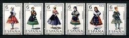 ESPAGNE 1967 N° 1426/1431 ** Neufs MNH Superbes C 1,50 € Costumes Féminins Suits Alava Alicante Alméria Badajoz - 1931-Aujourd'hui: II. République - ....Juan Carlos I