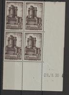France 1938 Coin Daté Vincennes 393 ** MNH - 1930-1939