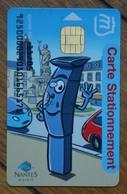 Carte Rechargeable - Stationement Mairie De Nantes - Moneo - France