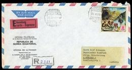 1974, Äquatorial-Guinea, 419, Brief - Guinée Equatoriale