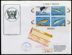 1996, St. Thomas Und Prinzeninseln, 1723-26 KB, FDC - Sao Tome Et Principe